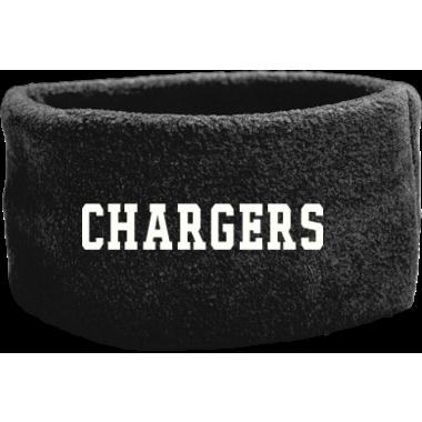 Chargers Fleece Headband