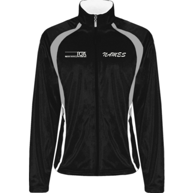 TEAM XTREME JACKET W/ LOGO AND CUSTOM NAME ON FRONT