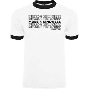 Muse4Kindness Ringer Tee